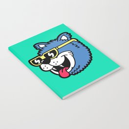 Cool Bear (portrait) Notebook