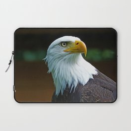 American Bald Eagle Head Laptop Sleeve