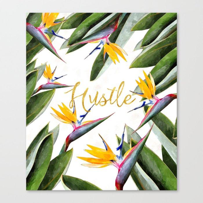 Hustle #society6 Canvas Print