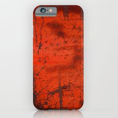 Red Roof Hatch iPhone 6s Slim Case