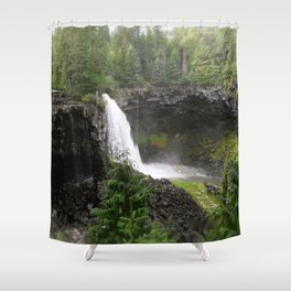 Worries Fall Away Shower Curtain