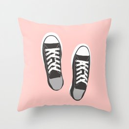 my fave shoes Throw Pillow
