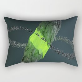 Gravitational Fracture Rectangular Pillow
