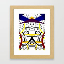 geometric architecture Framed Art Print