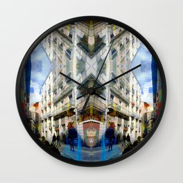Akin to recalling, instead; understood mimicry. 01 Wall Clock