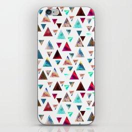 Multicolor Trianspace iPhone Skin