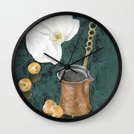 Kahve Wall Clock
