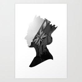 queen of jacks Art Print