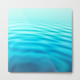 OCEAN ABSTRACT I Metal Print