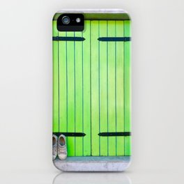 Barefoot In Venice iPhone Case