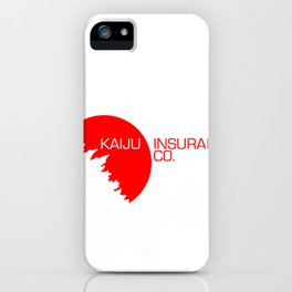 Kaiju Insurance Co. iPhone Case