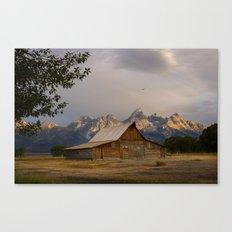 Grand Teton National Park - Mormon Row Moulton Barn Canvas Print