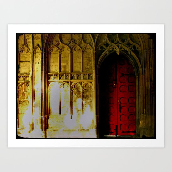Red Door No. 2 Art Print