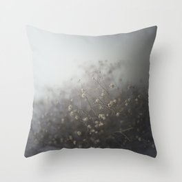 cover me with flowers Throw Pillow