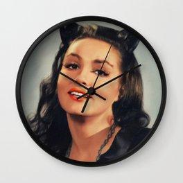 Julie Newmar, Catwoman Wall Clock