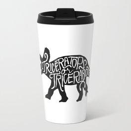 Triceratops or Tricerabottom? Travel Mug