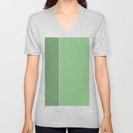 Green Lines Unisex V-Neck