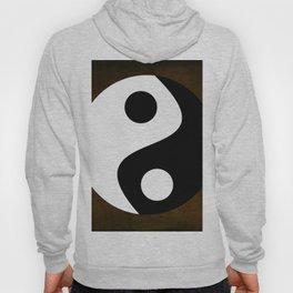 Yin and Yang - Brown Hoody