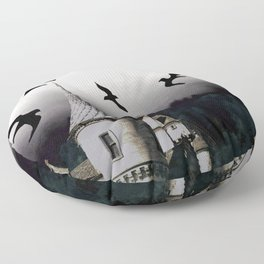 The house of Nevermore Floor Pillow