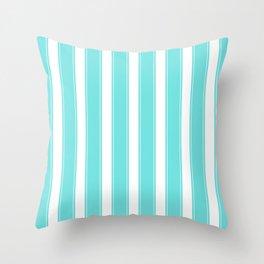 Summer Pattern | Sun Beach Holiday Sea Sand Palm Throw Pillow