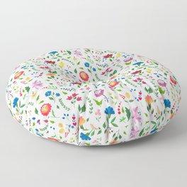 Hungarian folk art pattern Floor Pillow