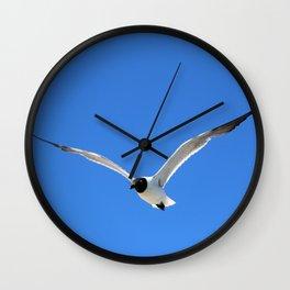 Ocracoke Seagull 2 Wall Clock