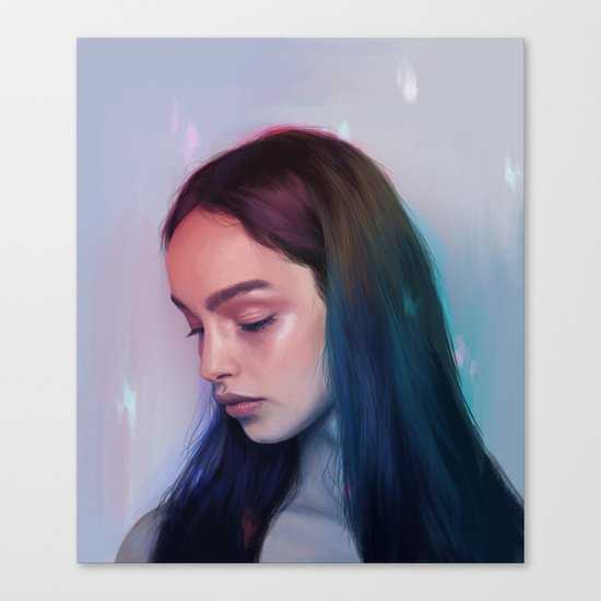 In Rainbows Canvas Print
