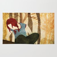 eternal sunshine Area & Throw Rugs featuring Eternal Sunshine by Lindsey Pudlewski