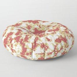 Abstract Textured Grunge Pattern Floor Pillow