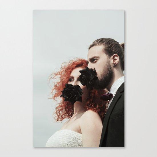 Rose love Canvas Print