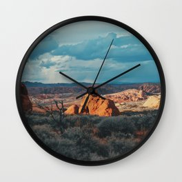 Colors of the Wilderness Wall Clock