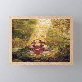 """""""Morning Dove"""" by Charles Folkard  Framed Mini Art Print"""