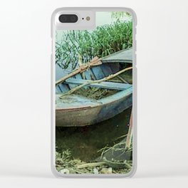 Lonely again Clear iPhone Case