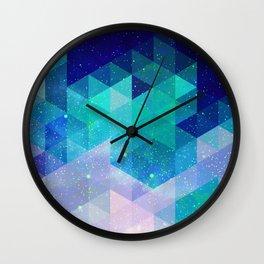 Geometric and electric Wall Clock