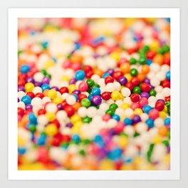 Pretty Sprinkles Art Print