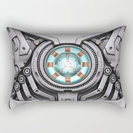 Arc Reactor Body Armor Rectangular Pillow