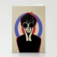 mod Stationery Cards featuring Mod by LunaLunaRiotGirl