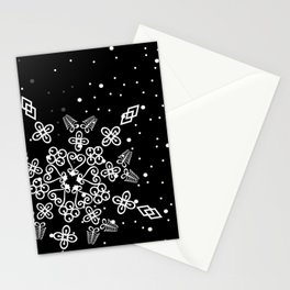 Adinkra Snowflakes Stationery Cards