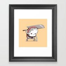 Samurai sushi - Tuna Framed Art Print