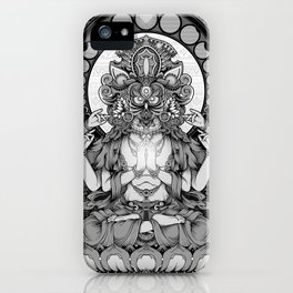 Sacred Ascetic iPhone Case