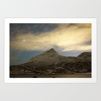 Norwegian mountains 2 Art Print