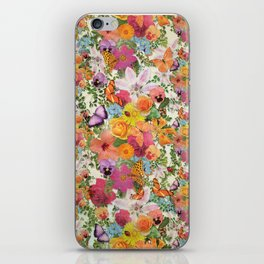 FLORAL // LIFE OF FLOWERS iPhone Skin