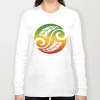 reggae Long Sleeve T-shirts featuring Reggae Poloneisan by Lonica Photography & Poly Designs