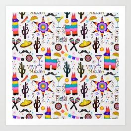 Fiesta Mexicana Art Print