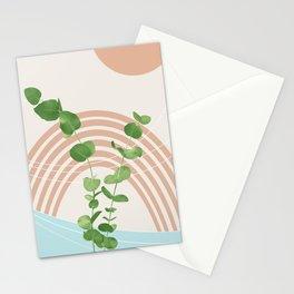 Eucalyptus Rainbow Oasis #1 #tropical #wall #art #society6 Stationery Cards