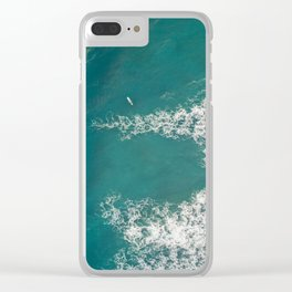 Flow Space Clear iPhone Case
