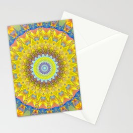 Mandala sun 2 Stationery Cards