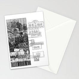 Hong Kong Series 1: Market  Stationery Cards