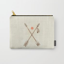 Crossed Arrows Carry-All Pouch