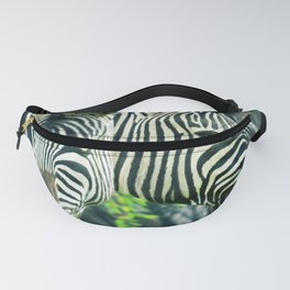Zebras up close Fanny Pack